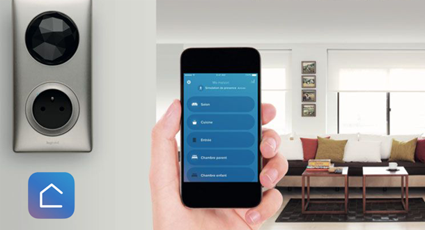 Image of the Home + Control application