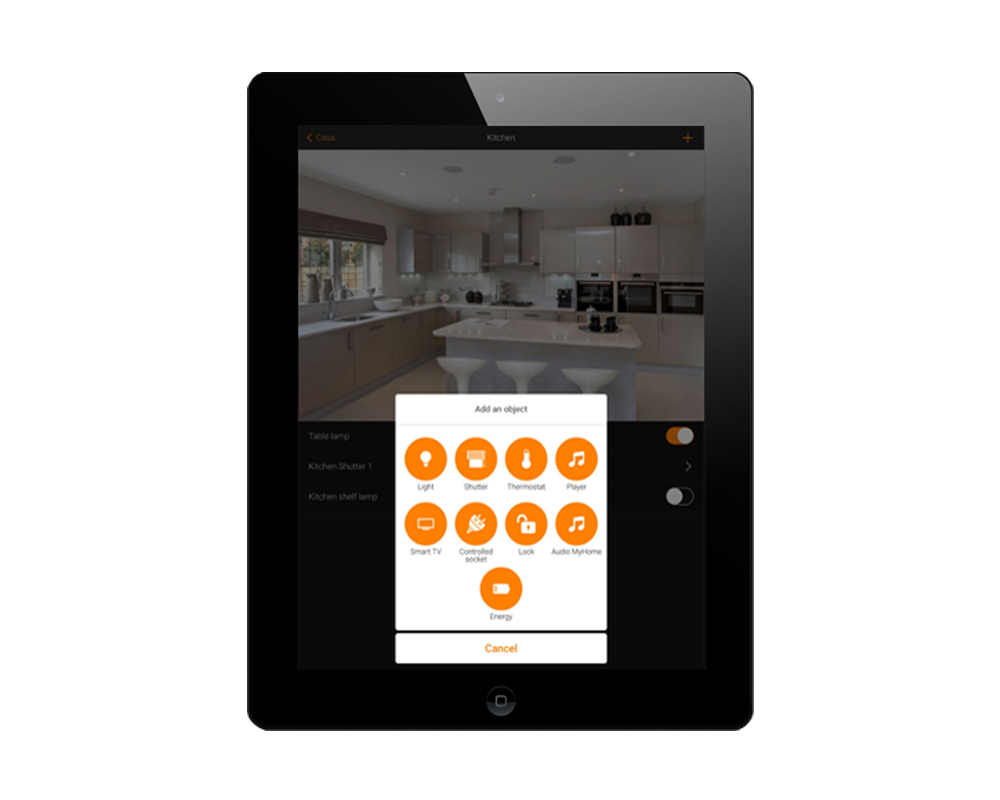 Image of the application MyHOME_Up