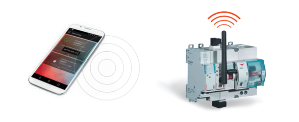 Image of the STOP & GO and Legrand Power ON application