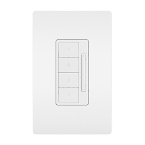 View of an RFLC dimmer switch