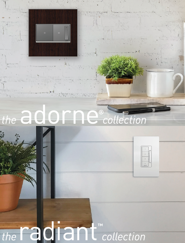 View of adorne® and radiant® in a home
